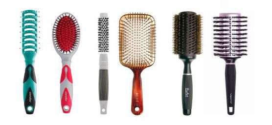 cabelos danificados tipos de escova