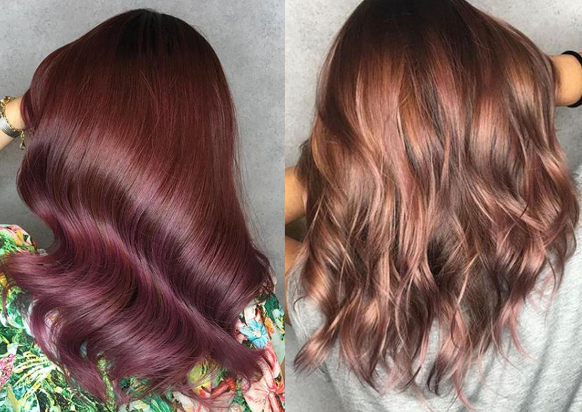 Rose Brown: a tendência de cor para os cabelos em 2018!