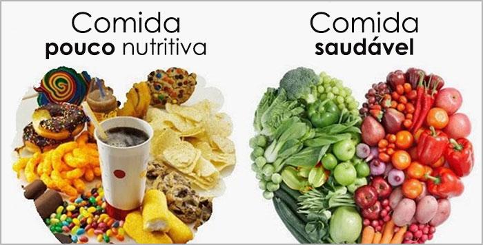 Alimentação saudável para uma vida mais animada