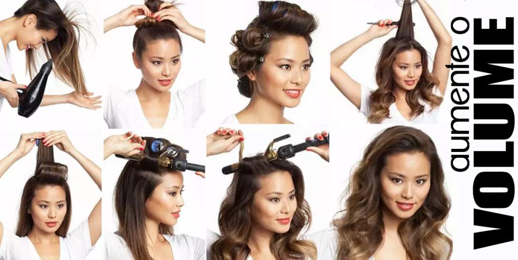 Como dar volume em cabelos finos - passo a passo