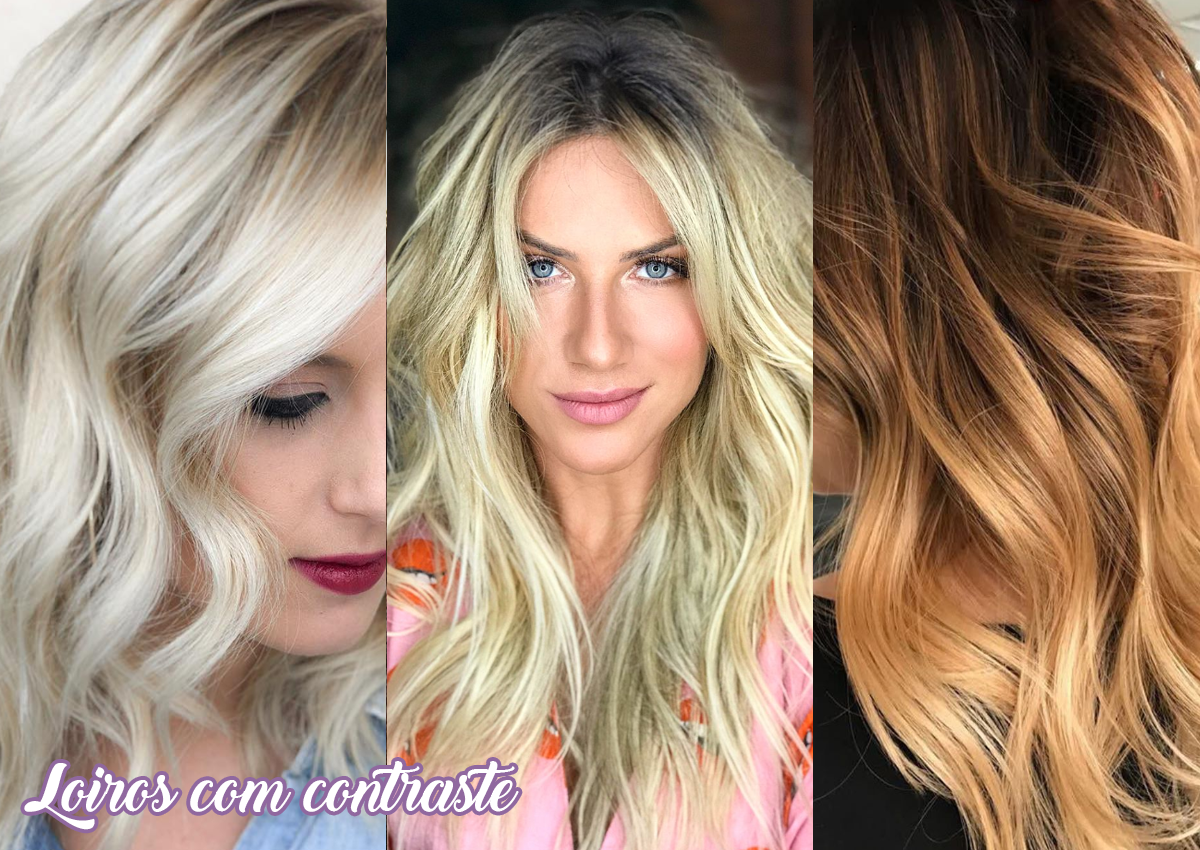 tendências de cortes femininos para 2019 - cabelos loiros