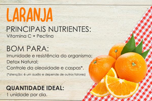 alimentos bons para cabelos laranja