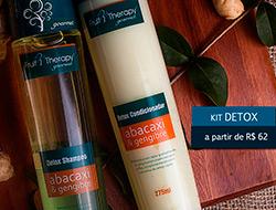 Fruit Therapy Gourmet - Kit Detox para Cabelos Left Comprar