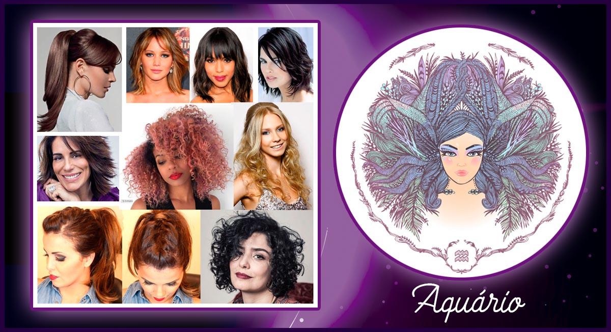 Aquarianas: os cortes de cabelos indicados para você
