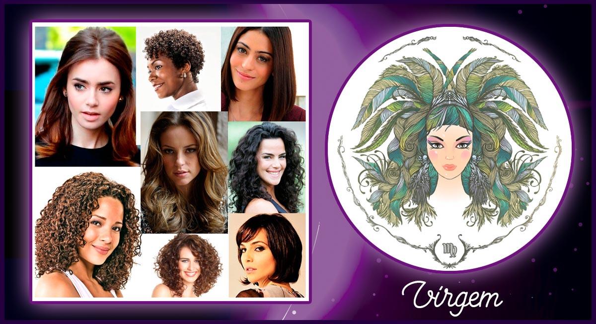 cabelo de cada signo - virgem