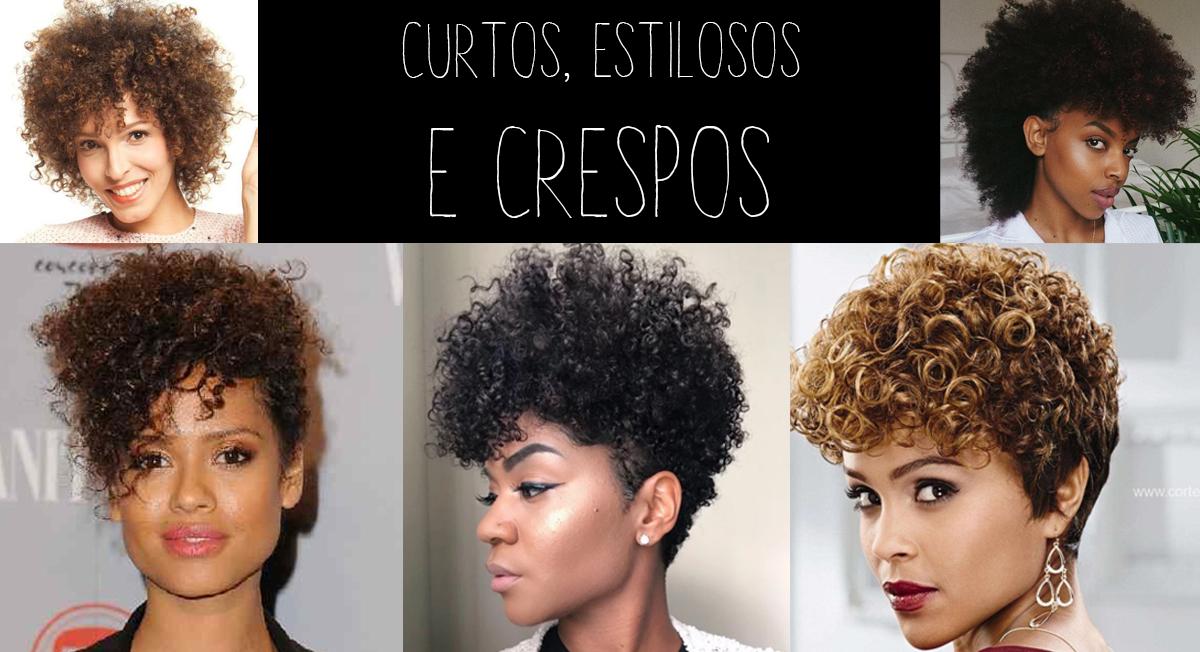 cortes femininos - curtos, estilosos e crespos