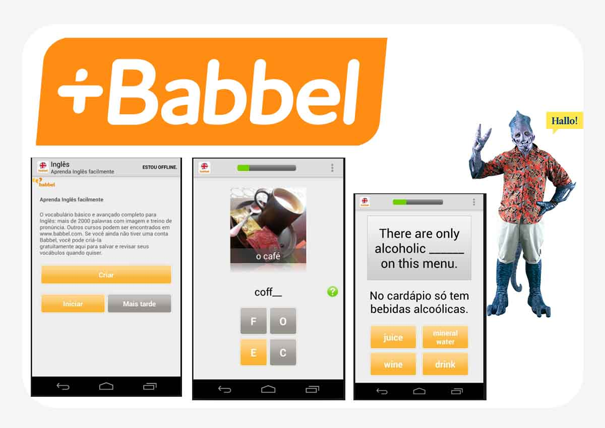 app para aprender idioma - babbel