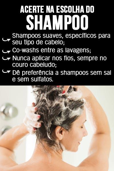 qual o melhor shampoo para cabelos lisos