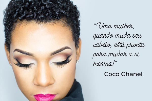 big chop frase coco chanel